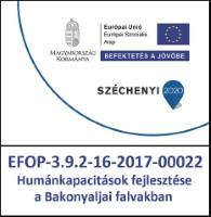 EFOP 3.9.2-16 Humánkapacitások fejlesztése a Bakonyaljai falvakban